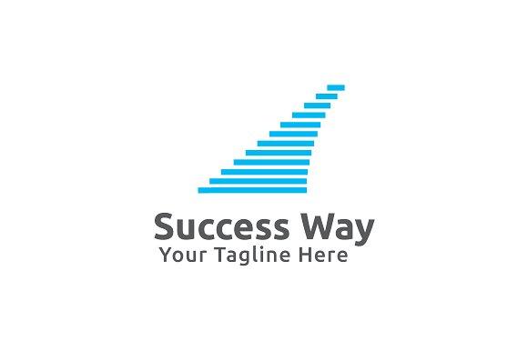 Success Way Logo Template