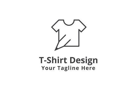T shirt design logo template logo templates creative market maxwellsz
