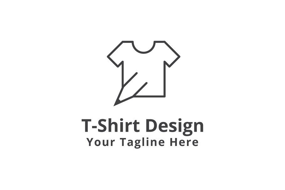 bf8d55b1 T-Shirt Design Logo Template ~ Logo Templates ~ Creative Market