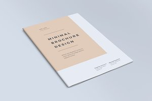 Minimal Brochure Design