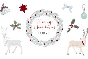 Christmas clip art set 2
