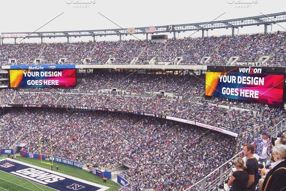 NFL Stadium Projector Mock-up#2