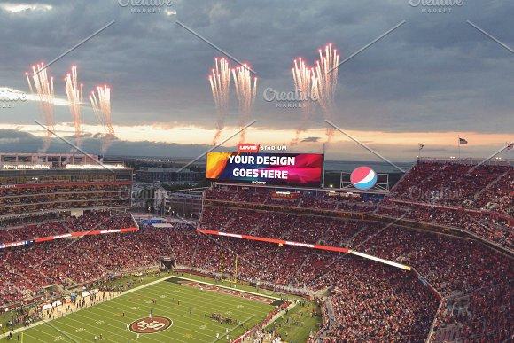 NFL Stadium Projector Mock-up#5