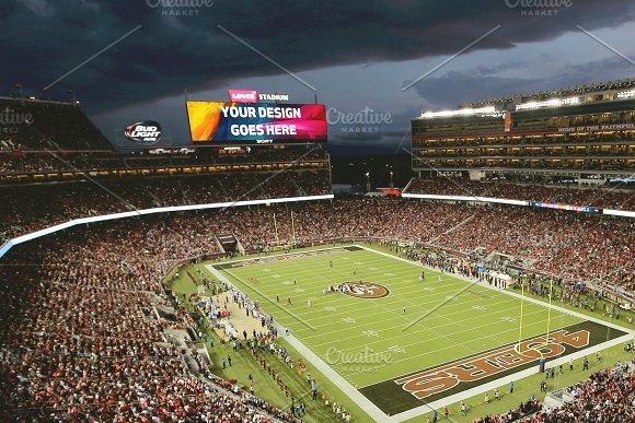 NFL Stadium Projector Mock-up#6