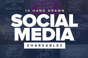 Social Media Shareables - Pack 2