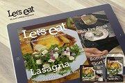 Cooking iPad Magazine Template