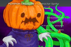 Pumpkin Creature - Character Sprite