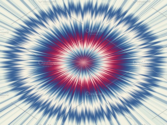 Background Of Abstract Circles Of Various Colors