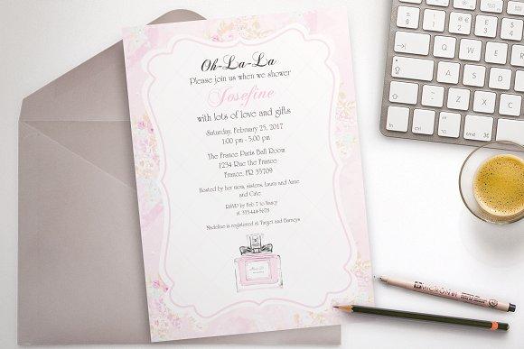 Parfum Party Invitation