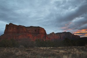 Dawn Over the Red Rocks