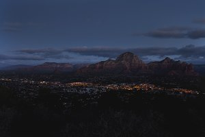 Dawn Over City of Sedona