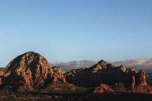 Sunrise Over Sedona Red Rocks