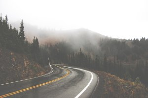 Rainy Mountain Road Fade