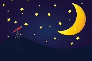 astronomy background