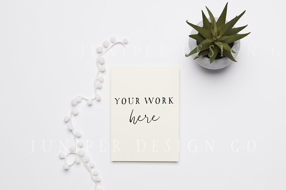 Invitation Mockup Styled Photo