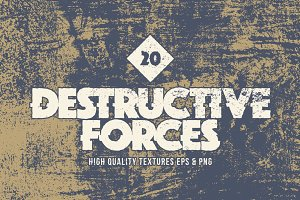 Destructive Forces Cement Textures