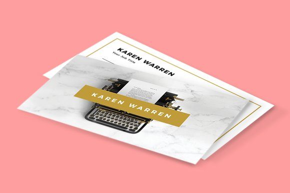 Typewriter marble business card business card templates creative typewriter marble business card business card templates creative market reheart Choice Image