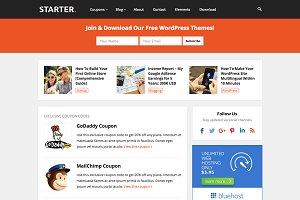 Starter - WP Blog Coupon Theme