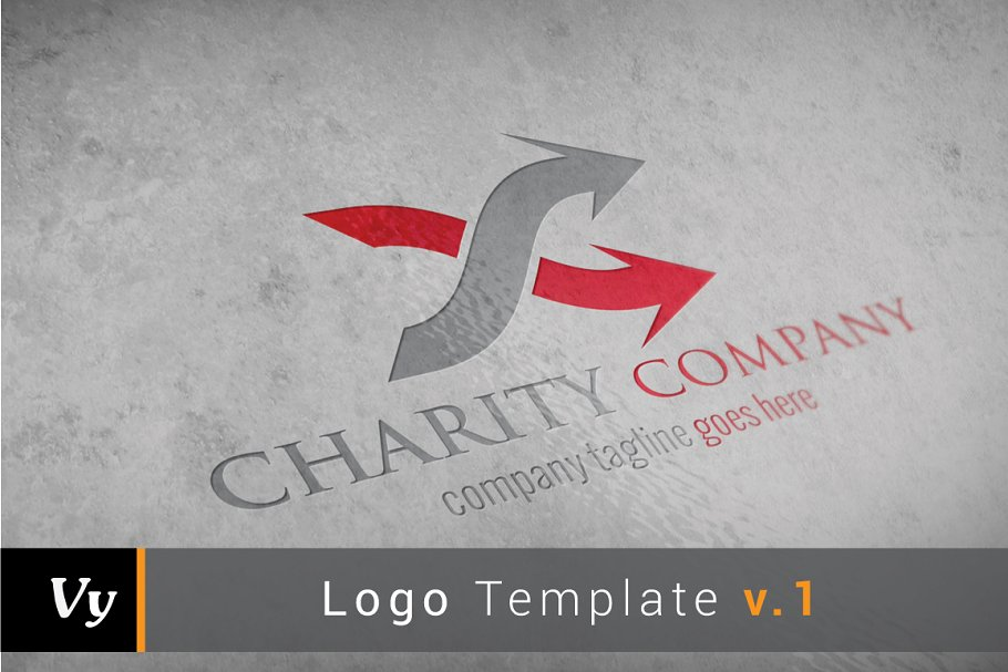 Charity Company Logo in Logo Templates - product preview 8