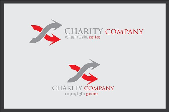 Charity Company Logo in Logo Templates - product preview 1