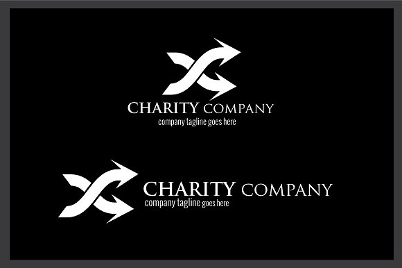 Charity Company Logo in Logo Templates - product preview 2
