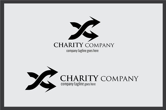 Charity Company Logo in Logo Templates - product preview 3