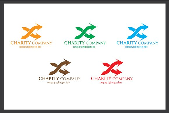 Charity Company Logo in Logo Templates - product preview 4