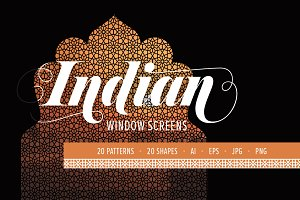 Indian Window Screens: PATTERNS