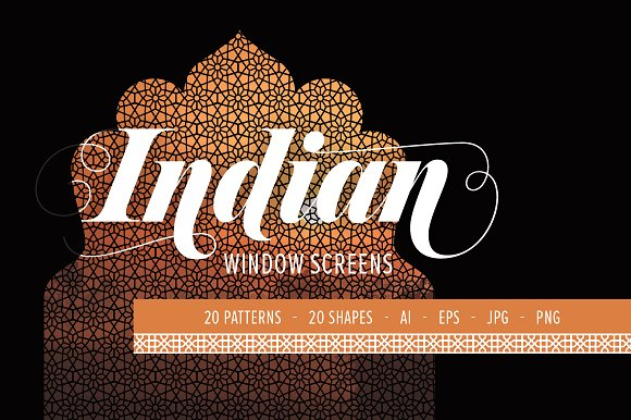 Indian Window Screens PATTERNS