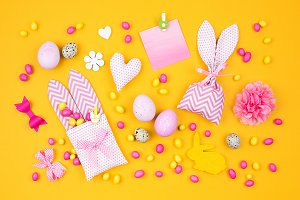 Easter creative background