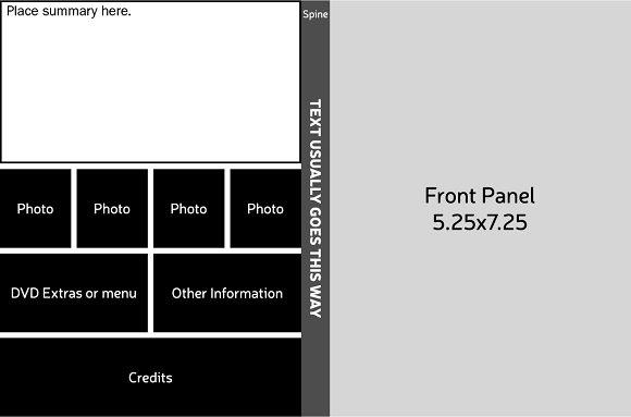 dvd sleeve template flyer templates creative market