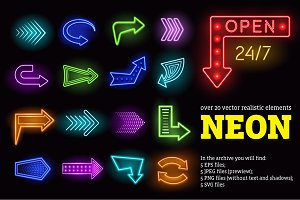 Neon Lights Set