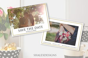 Save the Date - Wedding Template