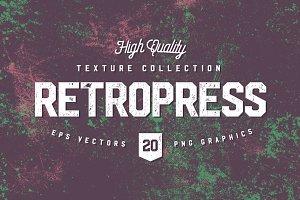 Retropress Halftone Textures