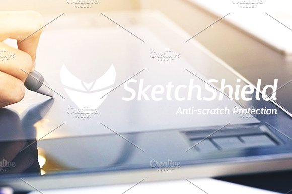 Sketch Shield in Logo Templates - product preview 1