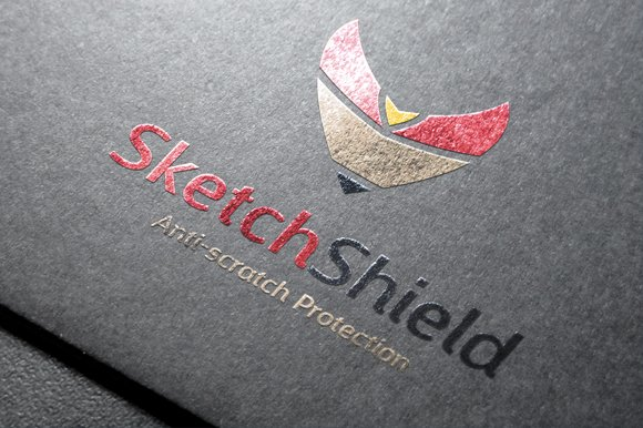 Sketch Shield in Logo Templates - product preview 2