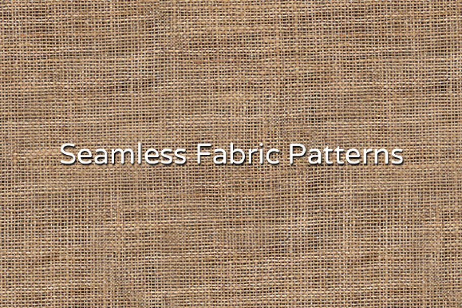 Seamless Fabric Textures ~ Graphic Patterns ~ Creative Market