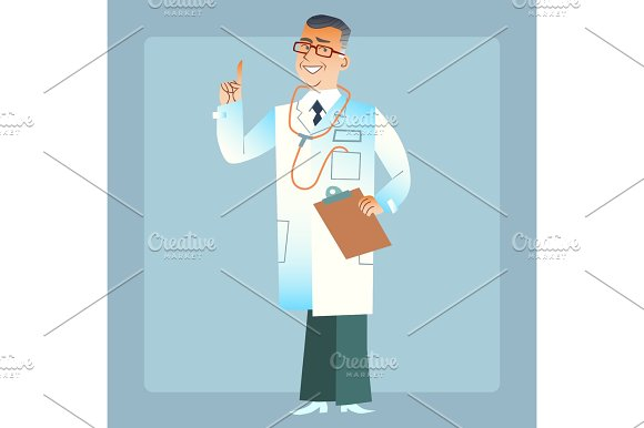 Good Doctor Physician In A White Coat