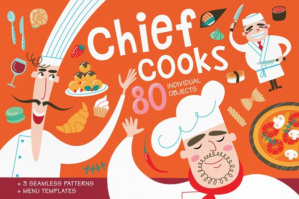Chief cooks. National cuisines.