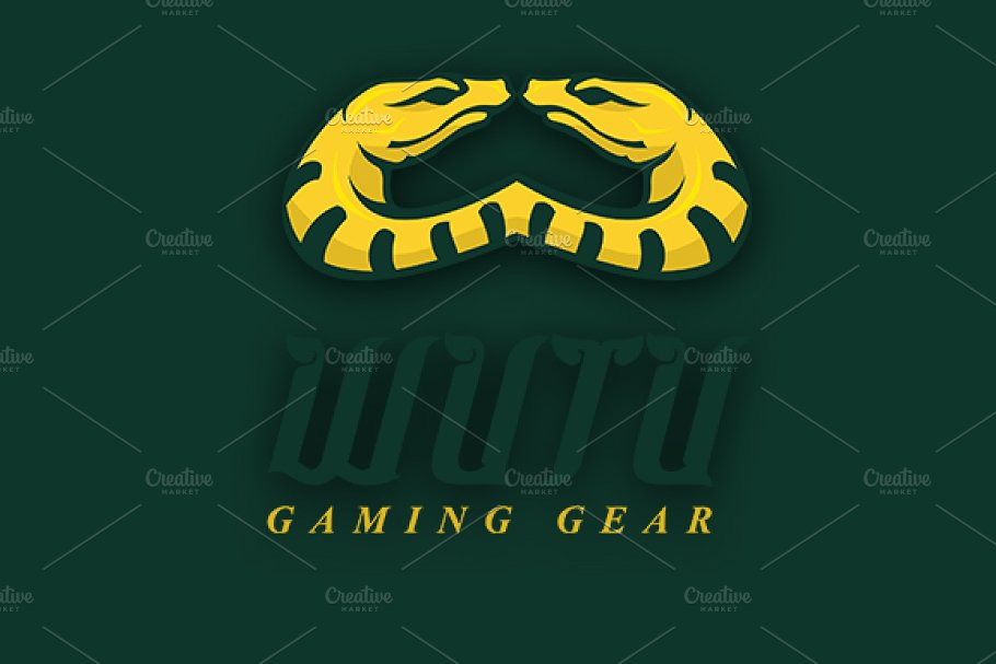 Wutu Gaming Gear in Logo Templates - product preview 8