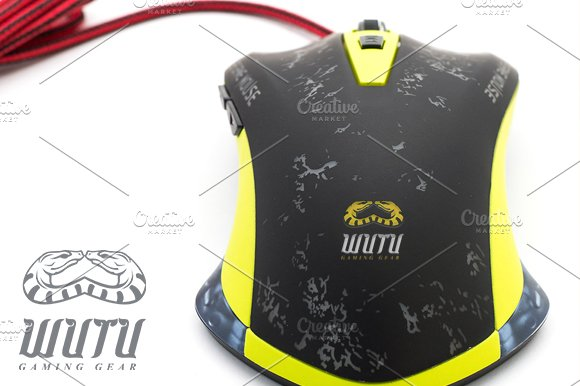 Wutu Gaming Gear in Logo Templates - product preview 2