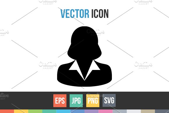 Woman User Person Avatar Vector