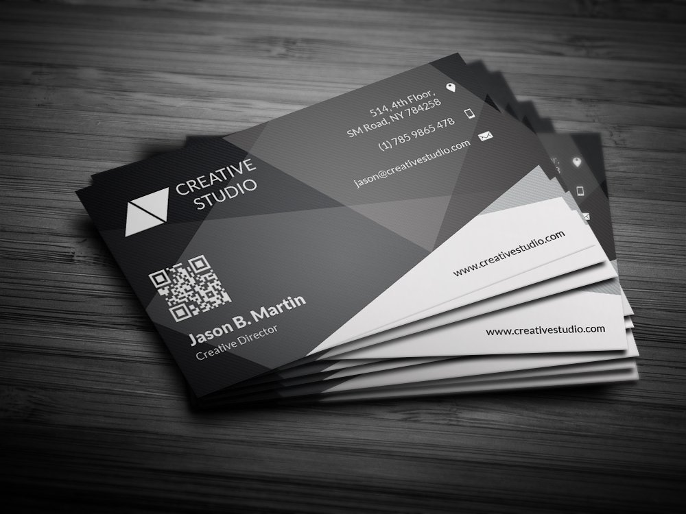 Creative Abstract Business Card Business Card Templates