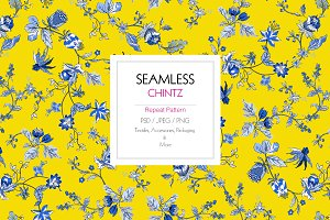 Seamless Chintz Pattern