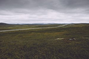 Landscape of the north of Norway