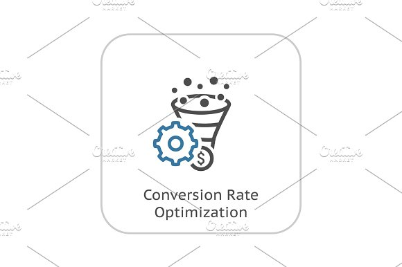 Conversion Rate Optimisation Icon