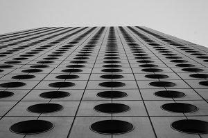 Infinite futuristic building