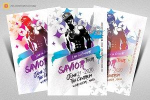 Live Concert Flyer / DJ Flyer