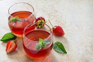 drink strawberry