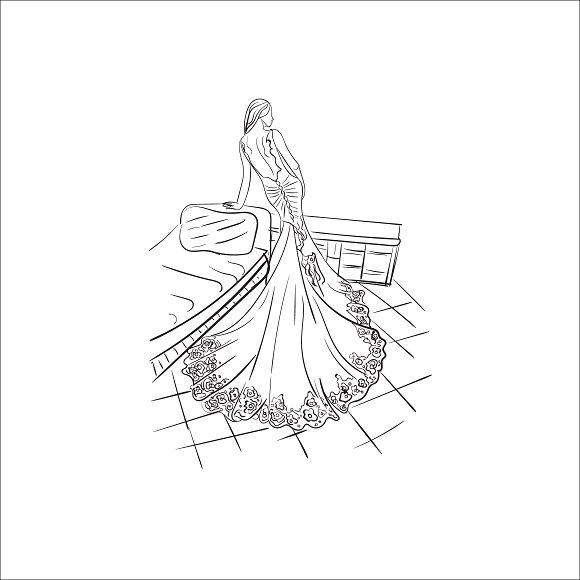 Fashion Lady Vector Illustration